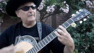 """Gory Bateson Sings Original Country Christian Song """"Your Name"""": A Dee Arbus FIlm"""