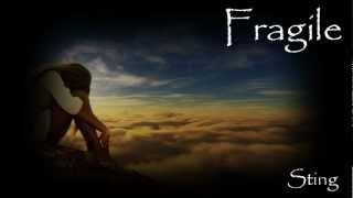 Fragile - Sting - HD Lyrics on Screen