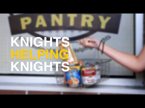 Behind the scenes at UCF's Knights Helping Knights Pantry