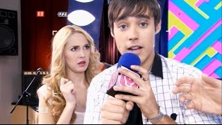 Violetta 1 - León renuncia al reality para darle su lugar a Violetta (01x65)