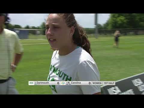 Video Thumbnail: 2019 College Championships, Women's Semifinal: North Carolina vs. Dartmouth