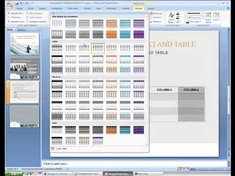 Editing Microsoft PowerPoint Presentation Templates