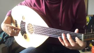 Lamma bada yatathana - Version simple - Oud