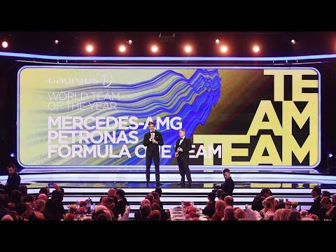 Toto Accepts Laureus World Team of the Year Award!