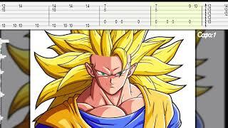 Goku Super Saiyan 3 Theme Song Guitar Tab/Tutorial