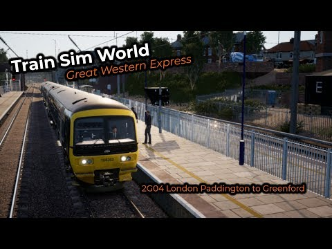2G04 London Paddington to Greenford - TSW: GWE