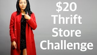 $20 Thrift Store Challenge Collab w/ LuvMika87 || Chanel Oldham