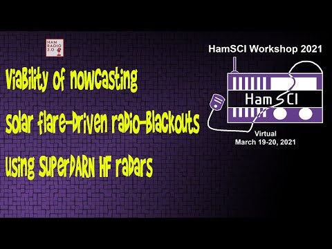 HamSci 2021: Viability of nowcasting solar flare-driven radio-blackouts