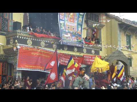 Buddha's Birthday Celebrations in Kathmandu, Nepal, May 2010