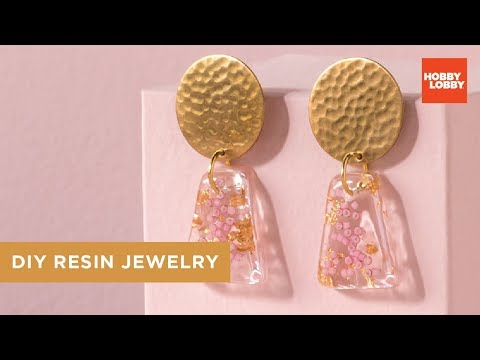DIY Resin Jewelry - How to Make | Hobby Lobby®