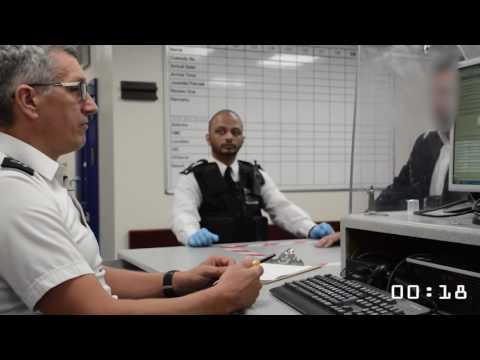24 seconds in police custody