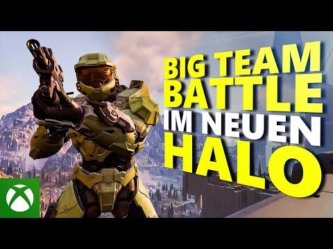 Erster Blick auf Big Team Battle   Halo Infinite Vorschau