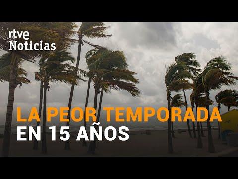 El HURACÁN IOTA amenaza Centroamérica en una temporada con RÉCORD de TORMENTAS | RTVE Noticias