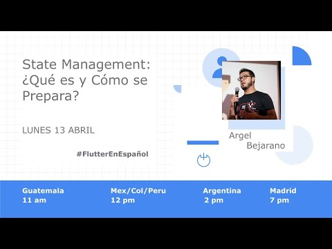 State Management en Flutter: ¿Qué es y Cómo se prepara?