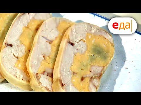 Галантин из курицы с омлетом   Кухня по заявкам   Илья Лазерсон