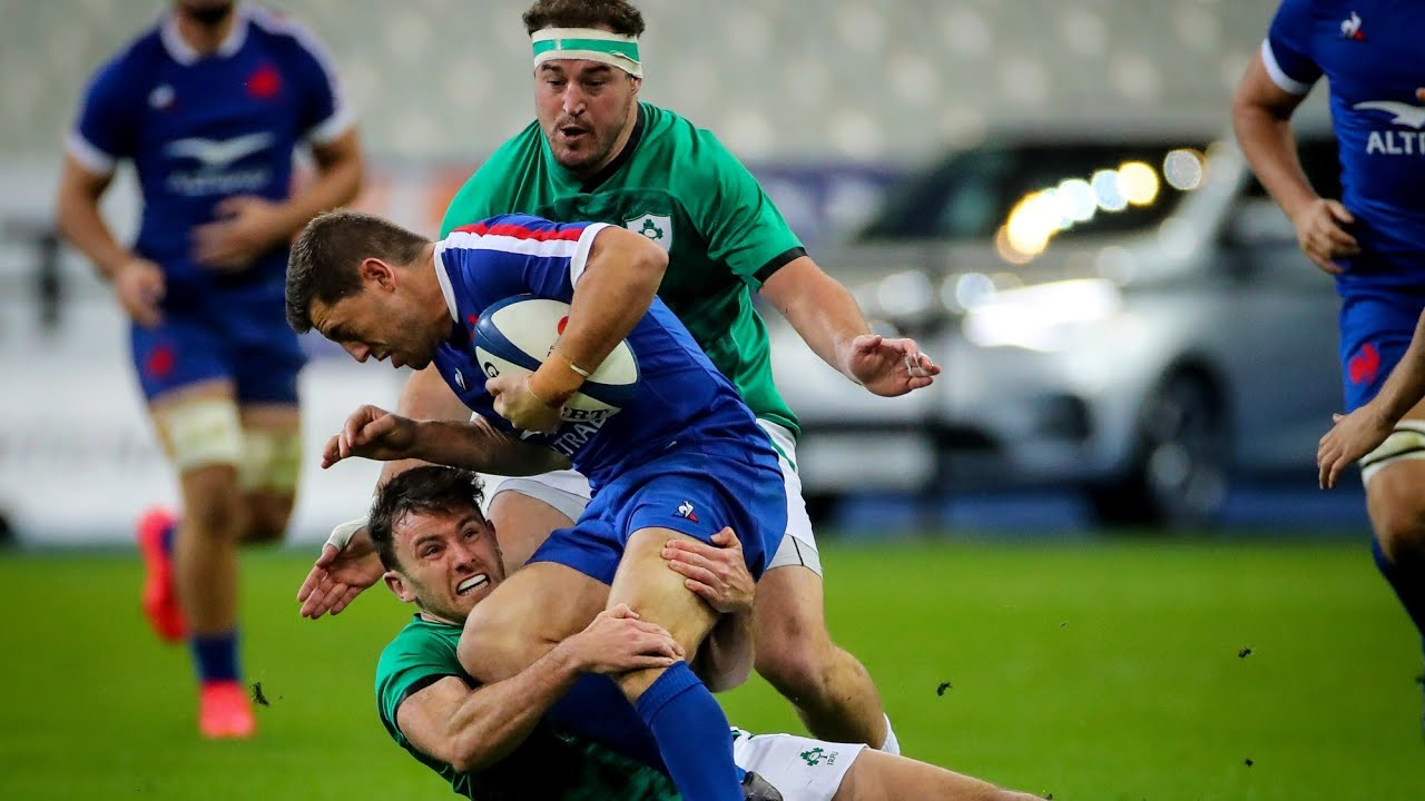 Highlights: France v Ireland – Six Nations Rugby