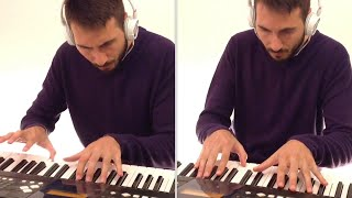 Ellie Goulding - Still Falling For Your (Jonas Blue version slowed) 2 Piano Cover