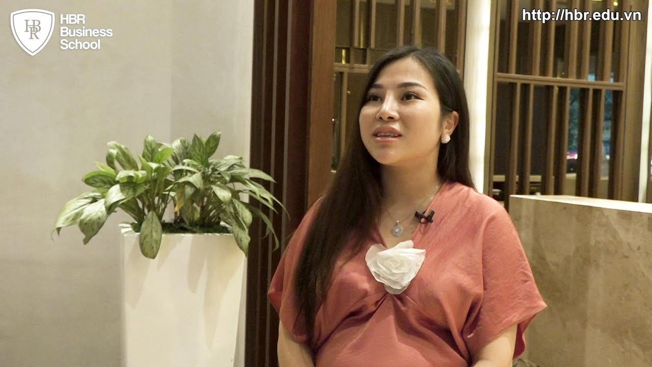 Cảm nhận học viên trường doanh nhân HBR - Chị Phương Anh CEO & FOUNDER Thẩm Mỹ Viện Quốc Tế Amida