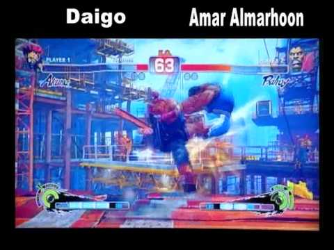 Daigo Vs.Amar Almarhoon Street Fighter Exhibition Kuwait 2011