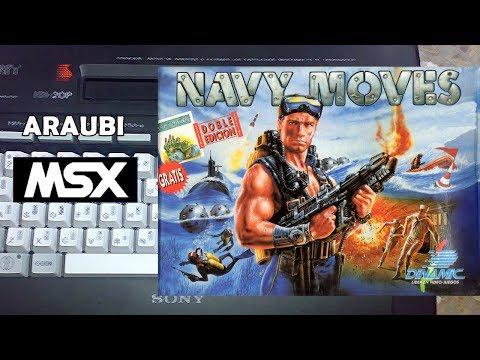 Navy Moves (Dinamic, 1988) MSX [004] El Kiosko