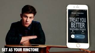 Shawn Mendes Treat you Better Marimba Remix Ringtone
