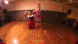 Fests Cigana Studio de Dança Mahira Safie - Solo Professora Mayara Rajal