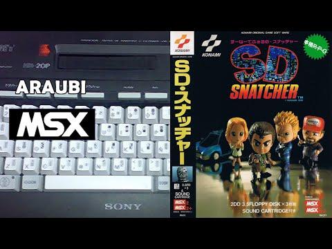 SD Snatcher (Konami, 1990) MSX2 [700] Walkthrough parte 3