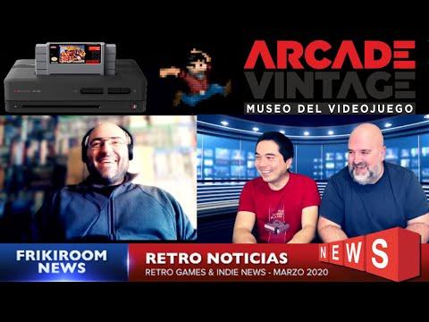Retro Noticias Marzo 2020 - Museo Arcade Vintage   Polymega   Museo Arcade Vintage