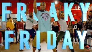 LIL DICKY-FREAKY FRIDAY (lyrics) ft CHRIS BROWN  new song 2018.