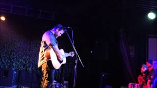 Chuck Ragan-The Flame and the Flood- Edmonton, AB 19/12/14
