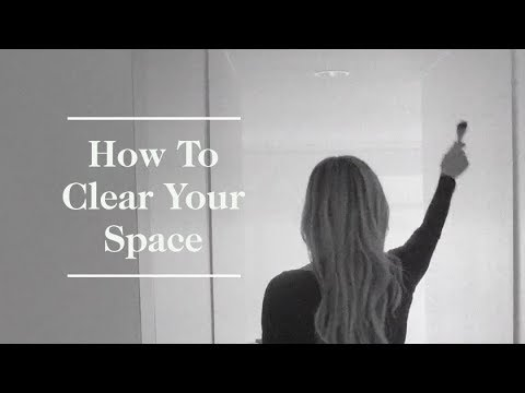 A Shaman On How To Clear Your Space