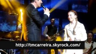 Tony Carreira feat Sara Carreira @ Live Olympia (HOJE MENINA AMANHÃ MULHER)