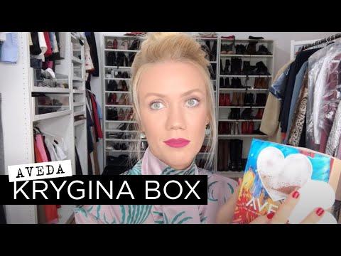 Елена Крыгина Krygina Box x Aveda