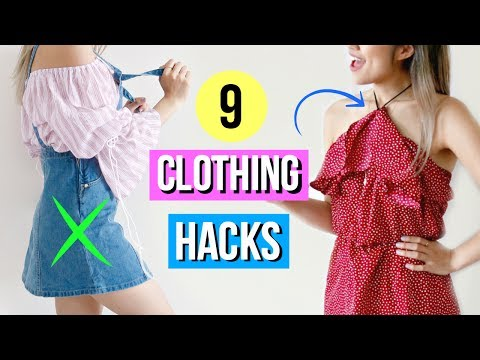 9 Summer Clothing Hacks EVERY Girl Must Know for Travel!