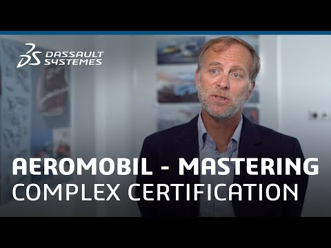 AeroMobil – Mastering complex certification with the 3DEXPERIENCE Platform - Dassault Systèmes