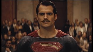 Batman v Superman (Moustache Edition)