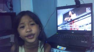 kumakabog by rachelle ann dulguime practise time for her talent for miss little sta maria school