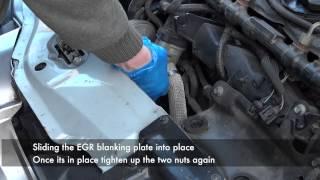 Jaguar X Type Intercooler Hose and EGR Blanking Plate
