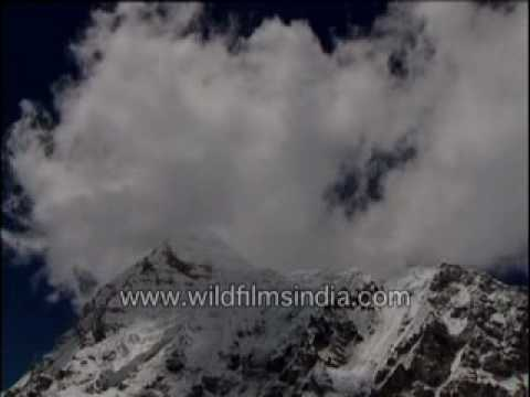 Time lapse of Himalayan monsoon clouds