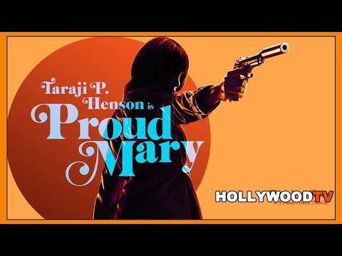 Taraji P. Henson talks Proud Mary - Hollywood TV