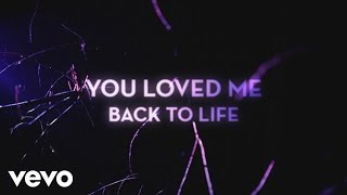 Céline Dion - Loved Me Back to Life (Official Lyric Video)