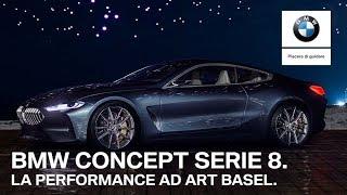 BMW Concept Serie 8 ad Art Basel.
