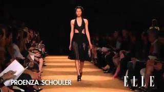Proenza Schouler. New York Fashion Week primavera verano 201