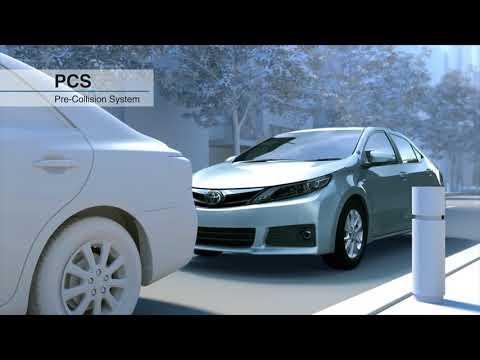 2018 Toyota Safety Sense: Pre Collision System