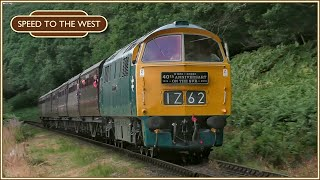 The Severn Valley Wizzo - D1062 'Western Courier' - 21st July 2018