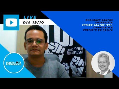 Rhaldney Santos entrevista Thiago Santos (UP)
