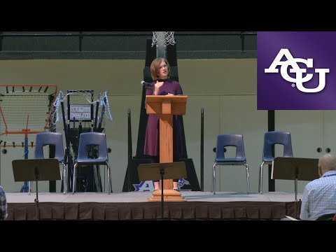 ACU Chapel with Sara Barton; September 19