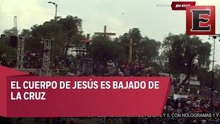Pasión de Cristo: Jesús es bajado de la cruz