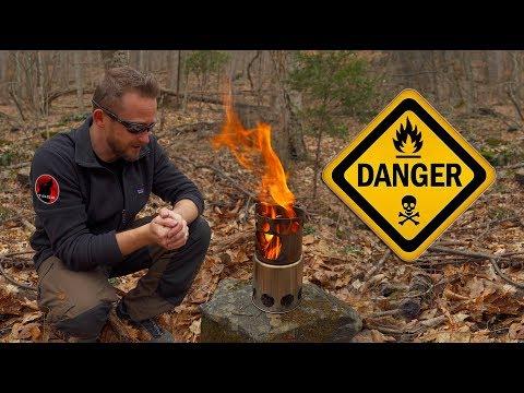 The Most Dangerous Stove - VINIDA Survival Stove - Review
