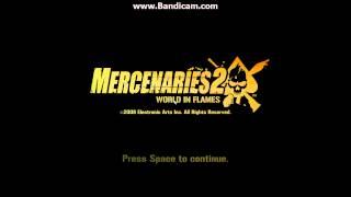 Mercenaries 2 World In Flames: Main Menu/Pause Menu Music